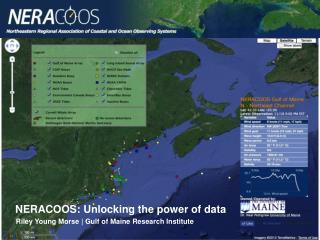 NERACOOS: Unlocking the power of data