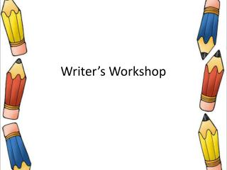 Writer's Workshop
