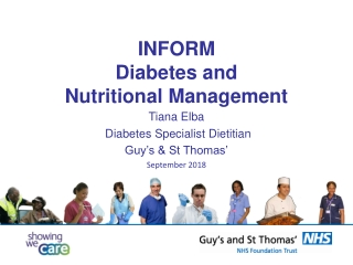 Diabetes Management through Nutrition and Exercise