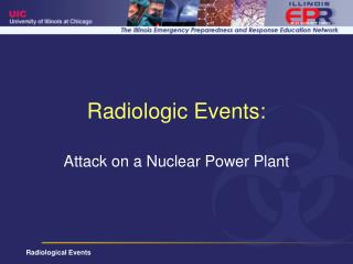 Radiologic Events:
