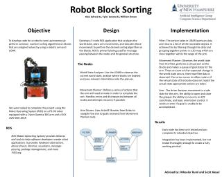 Robot Block Sorting