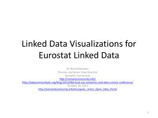 Linked Data Visualizations for Eurostat Linked Data