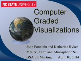 Computer Graded Visualizations