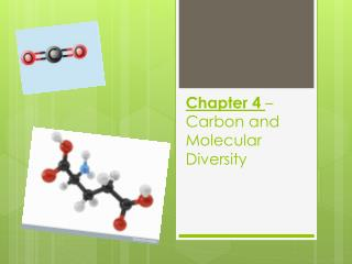 Chapter 4  – Carbon and Molecular Diversity
