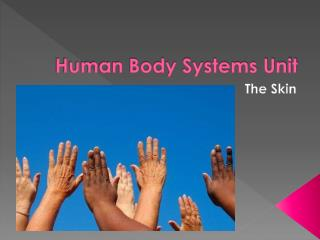 Human Body Systems Unit