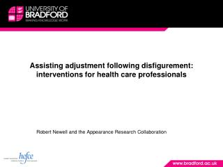 Assisting adjustment following disfigurement: interventions for health care professionals