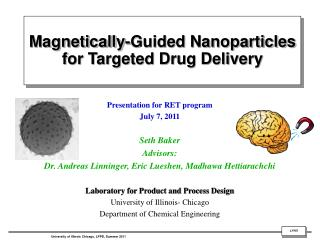 Magnetically-Guided Nanoparticles for Targeted Drug Delivery