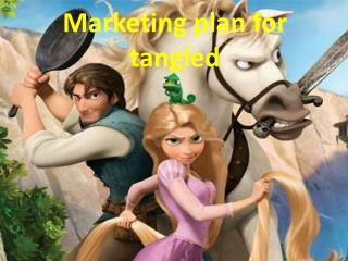 Marketing plan for tangled