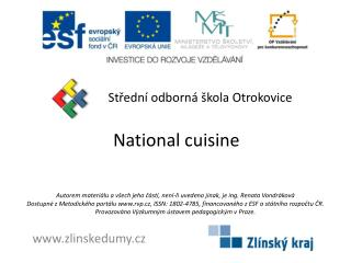 National cuisine