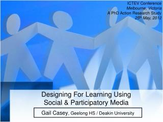 Designing For Learning Using Social & Participatory Media