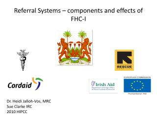 Referral Systems – components and effects of FHC-I
