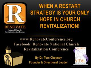 When a Restart Strategy is Your Only HOPE in Church Revitalization!