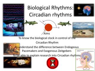 Biological Rhythms: Circadian rhythms