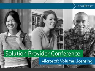 Solution Provider Conference