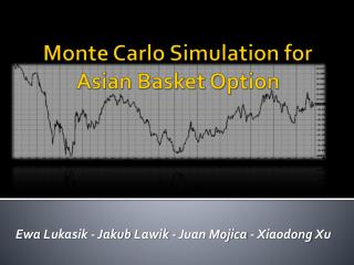 Monte Carlo Simulation for Asian Basket Option