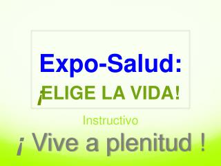 Expo-Salud: