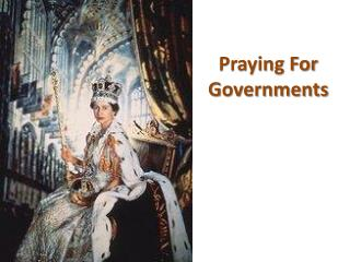 Praying For Governments