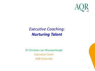 Executive Coaching: Nurturing Talent