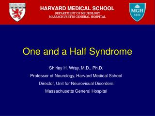 One and a Half Syndrome