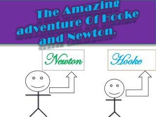 The Amazing adventure Of Hooke and Newton .
