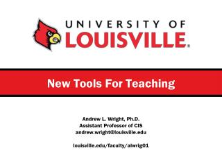 New Tools For Teaching