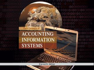Chapter 12: Computer Controls for Organizations and  Accounting Information Systems