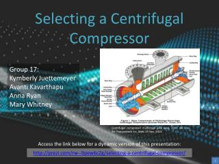 Selecting a Centrifugal Compressor