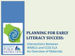 Planning for Early Literacy Success: