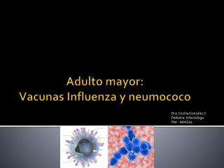 Adulto mayor:  Vacunas Influenza y neumococo
