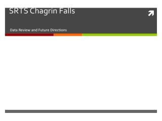 SRTS Chagrin Falls