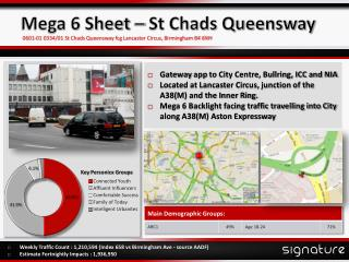 Mega 6 Sheet – St Chads Queensway