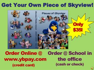 Get Your Own Piece of Skyview!