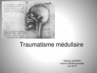 Traumatisme médullaire
