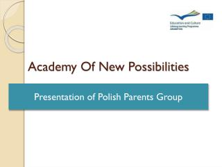 Academy Of New Possibilities