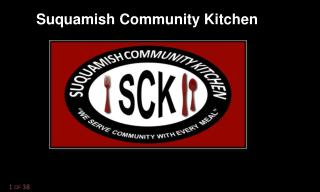 Suquamish Community Kitchen