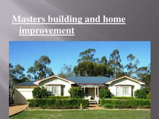 Building and home  improvement
