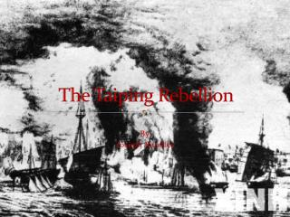 The Taiping Rebellion