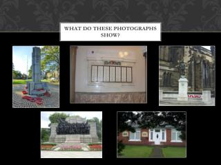 What do these photographs show?