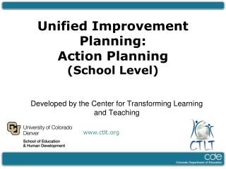 Developed by the Center for Transforming Learning and Teaching