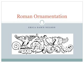 Roman Ornamentation