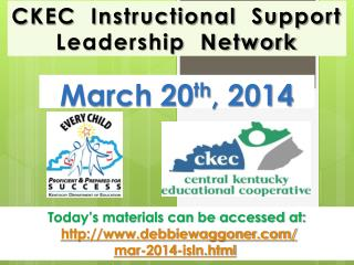 CKEC  Instructional  Support Leadership  Network