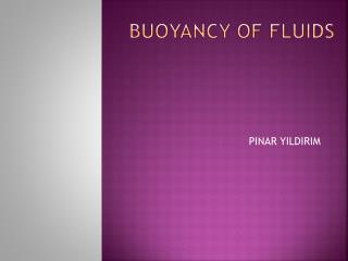 Buoyancy  of  fluids