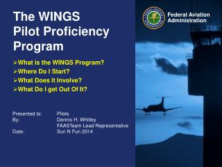 The WINGS  Pilot Proficiency Program