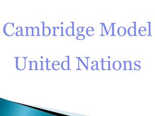 Cambridge Model United Nations