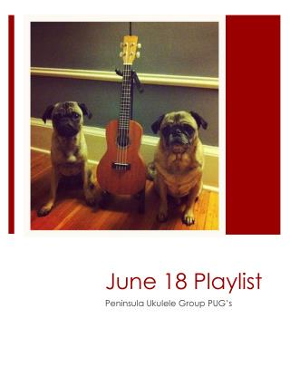 June 18 Playlist