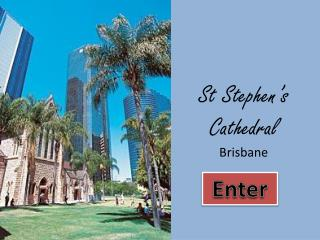 St Stephen's Cathedral Brisbane