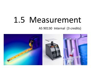 1.5  Measurement