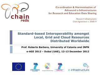 Standard-based Interoperability amongst Local, Grid and Cloud Resources Distributed Worldwide