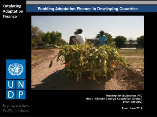 Enabling Adaptation Finance in Developing Countries