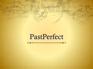 PastPerfect